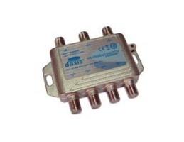 COMUTADOR DISEQC + Combinador T. 3-4 DAXIS-AS0020